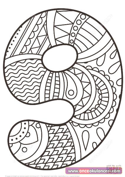 Mandala Sayi Boyamalari Detay Boyama Once Okul Oncesi Ekibi Forum Sitesi Biz Bu Isi Biliyoruz Zentangle Desenler Boyama Sayfalari Mandala Mandala