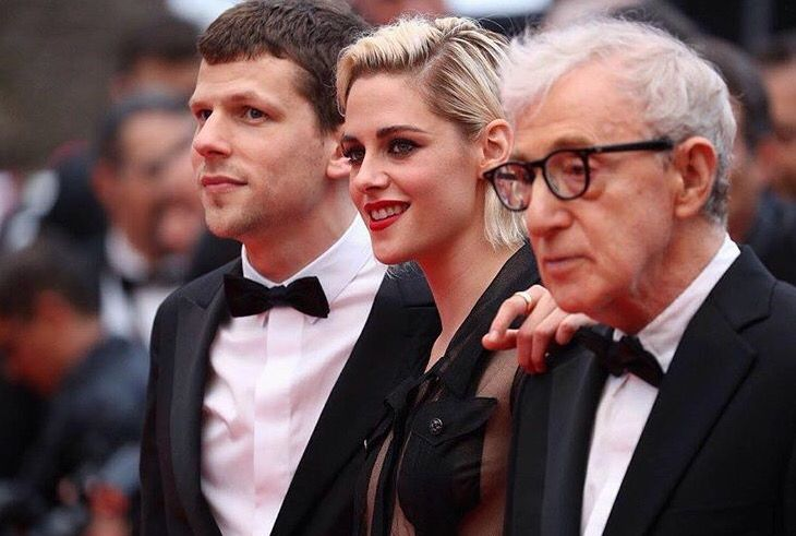 Premiere of Woody Allen's 'Cafe Society' which starts off the 2016 Cannes Film Festival.