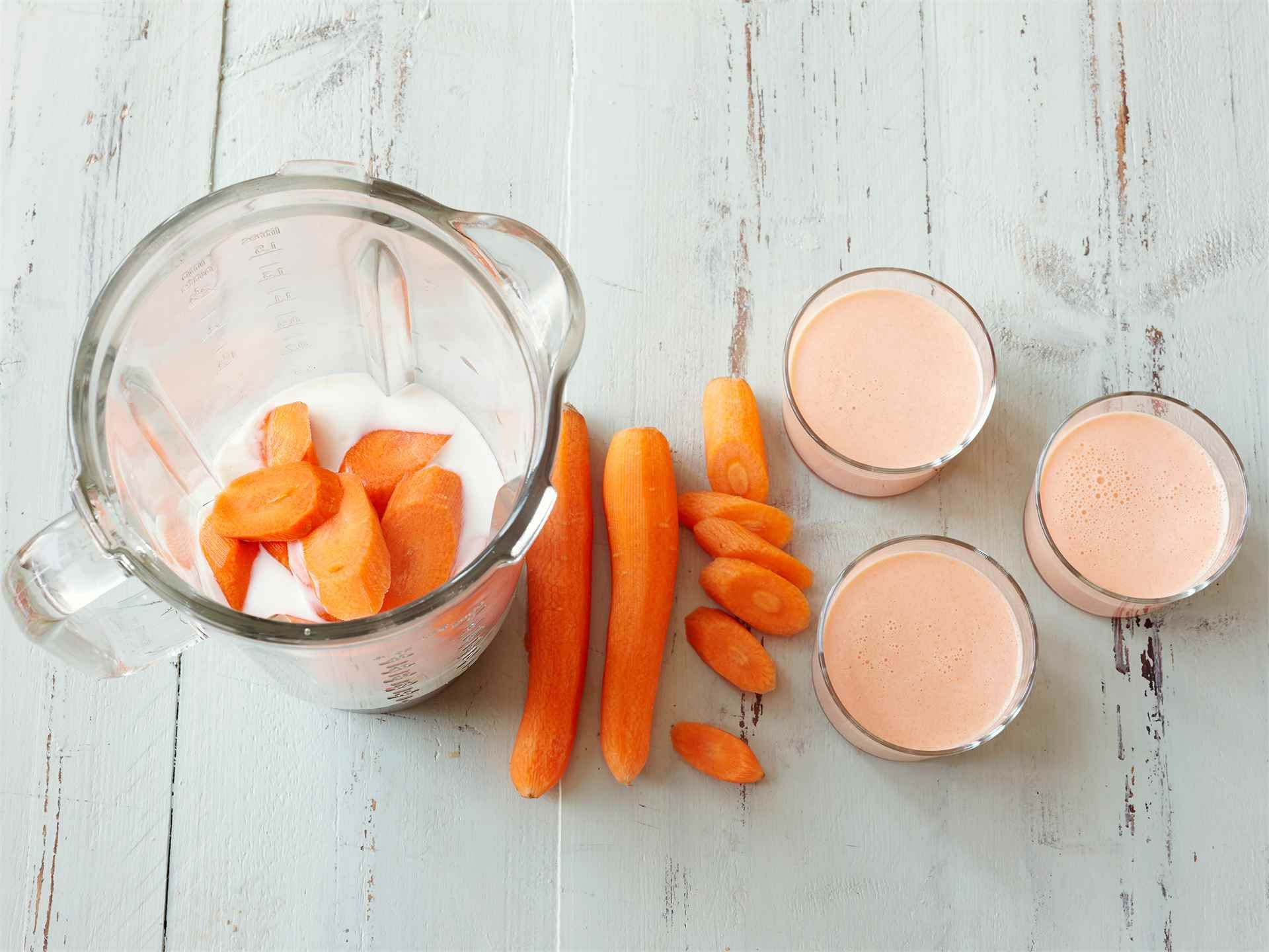 Kefir Porkkanasmoothie