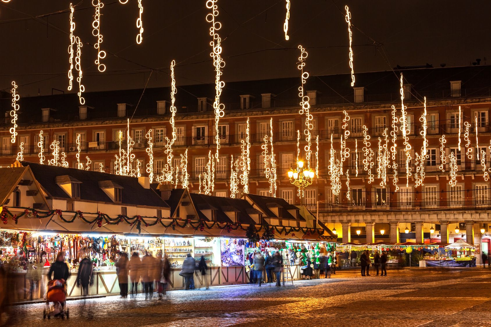 Plaza Mayor Madrid Navidad See Spain Pinterest Mercados