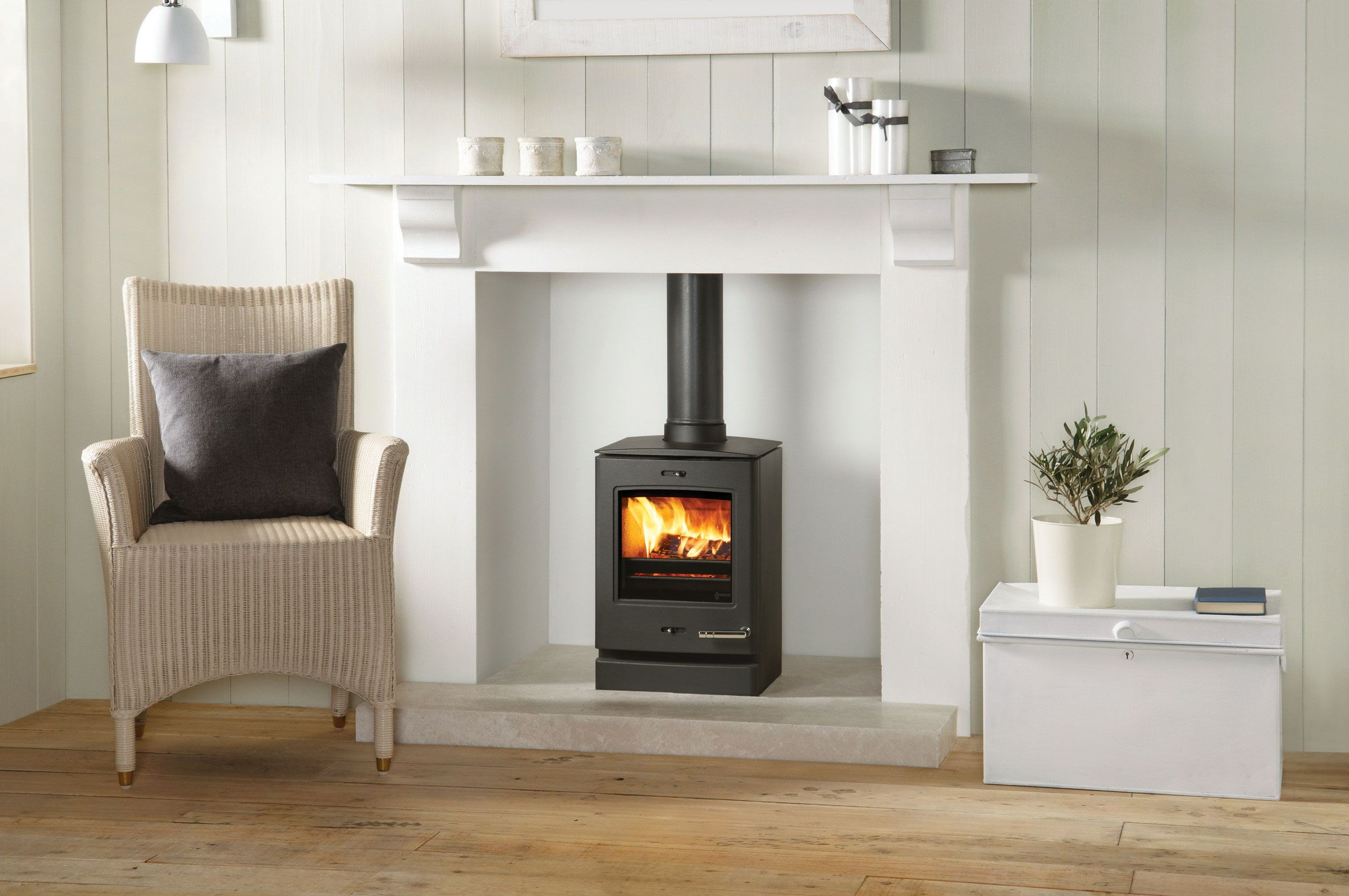 Yeoman CL3 Multi-fuel stove. Yeoman\'s high performance Contemporary ...