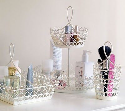 shabby chic bathroom accessories  homezanin, Home design/