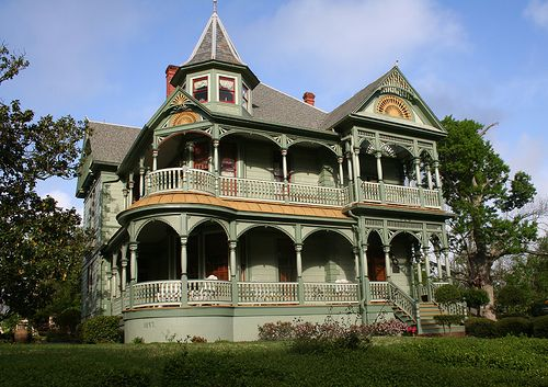 Wood-Hughes Home, South Austin Street, Brenham, Texas  Built