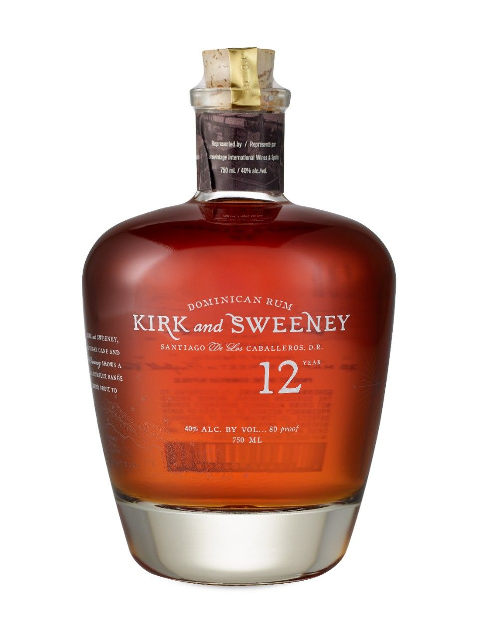 Kirk And Sweeney 12 Year Old Dominican Rum Dominican Rum Rum Booze