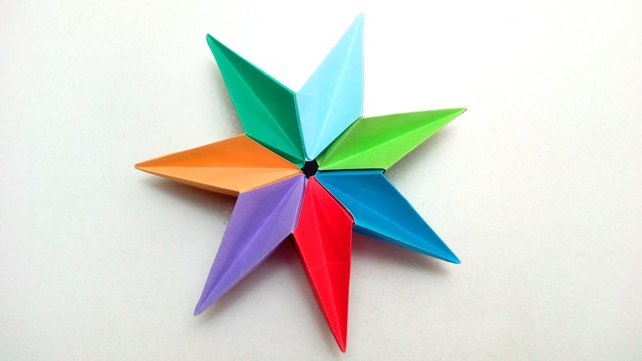 Paper Star Origami 3D Ninja Easy DIY Crafts How To Make