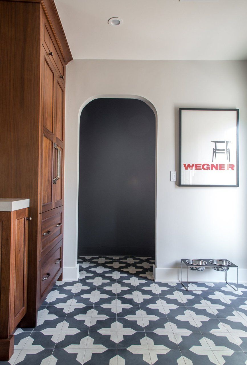 granada tile badajoz cement tile kitchen floor | maple hall tile