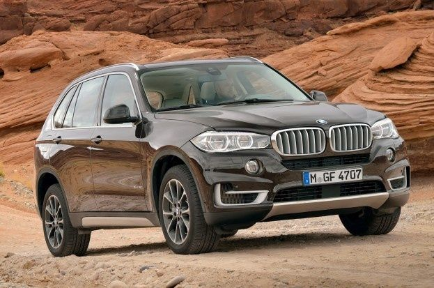 2014 Bmw X5 Front Three Quarters View In Brown Photo On May 29