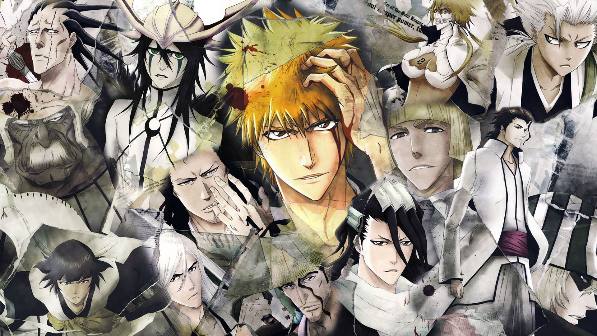 Anime Bleach Characters Captains Read High Quality Manga On MangaGrounds