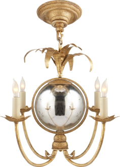 Circa Lighting Simply Brilliant Mini Chandelier Visual Comfort Chandelier Small Chandelier
