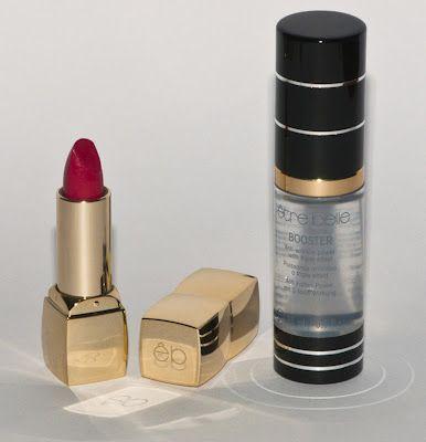 Un post fabuloso donde el Blog Pinceladas de Temporada analiza en profundidad la prebase Booster y la barra de labios Lip Couture de être belle