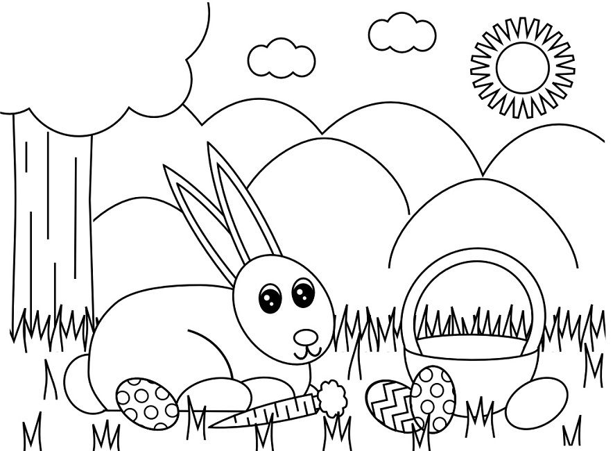Easter Coloring Pages For 3rd Grade Bunny Coloring Pages Spring Coloring Pages Coloring Pages