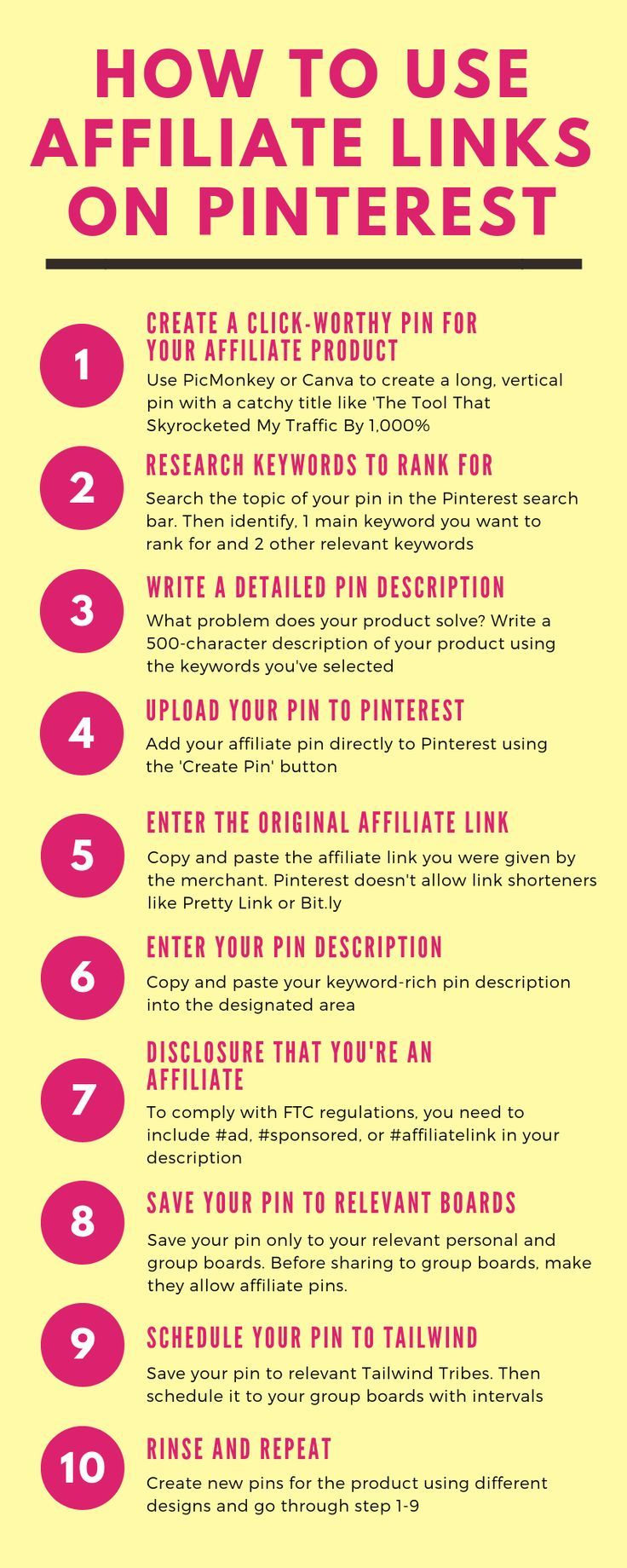 How To Make Money on Pinterest With Affiliate Links in 2019