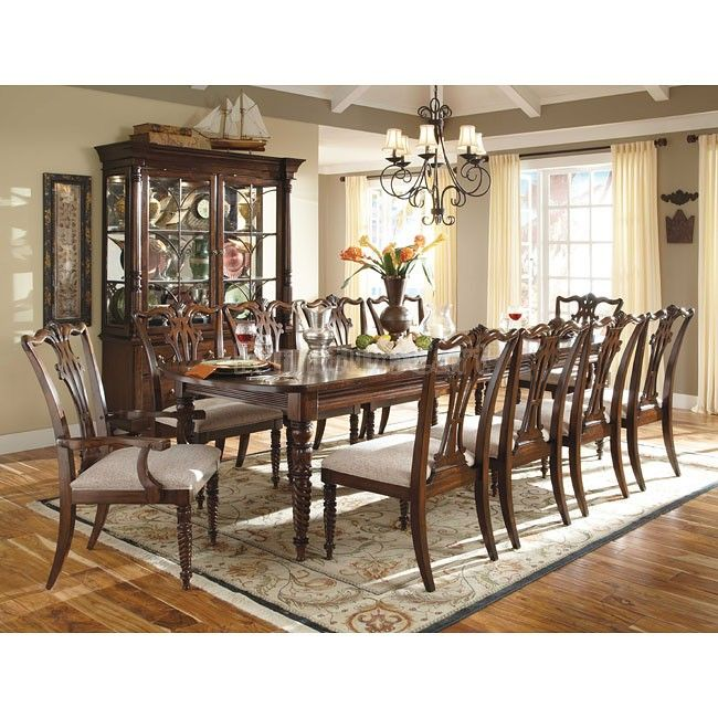 Moonlight Bay Victoria Dining Room Set W Regency Chairs Formal
