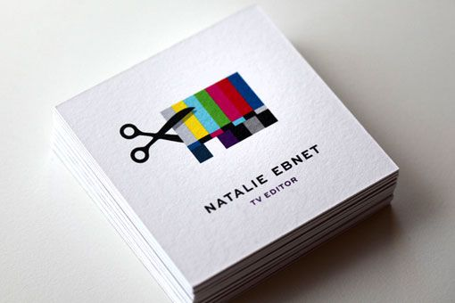 Identity and business card solution that ty mattson came up with for identity and business card solution that ty mattson came up with for natalie ebnet a tv editor colourmoves