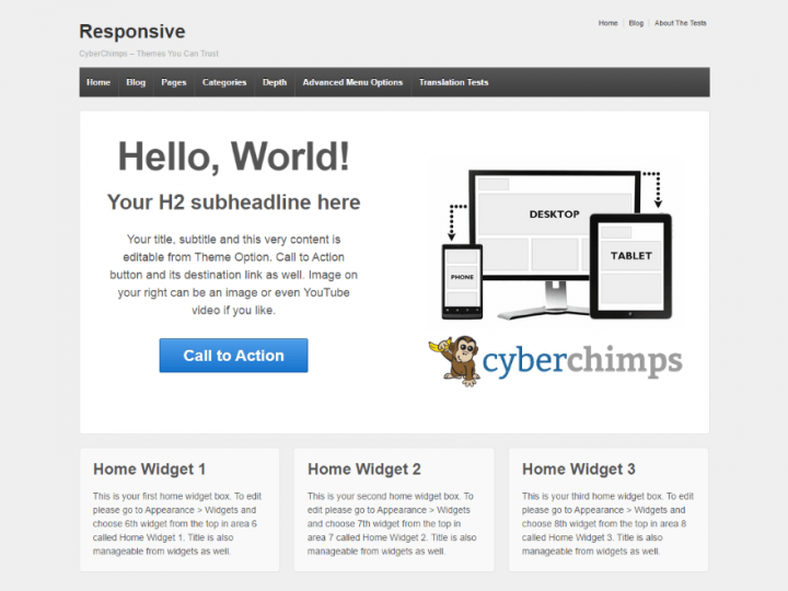 Check out Responsive in our top 10 Beautiful and Free WordPress ...