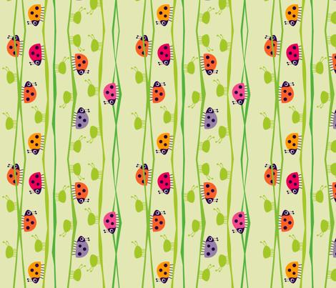 My Little Helpers_Light fabric by spellstone on Spoonflower - custom fabric