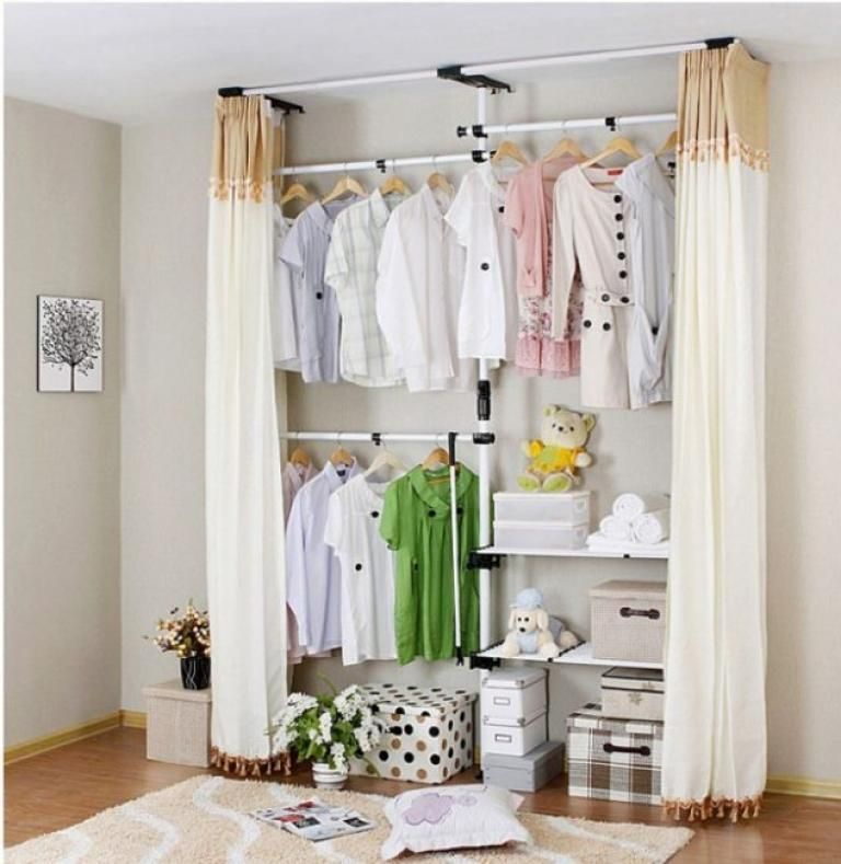 Awesome Corner Closet Ideas In The Small Room No Closet