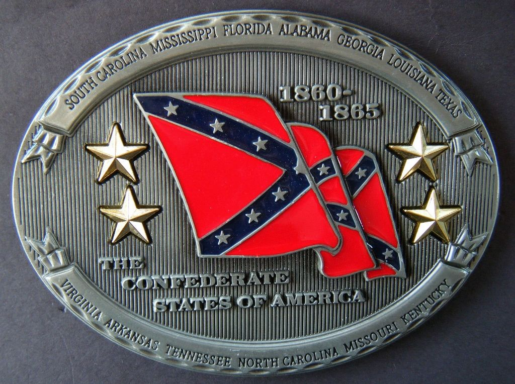 Confederate States Of America Usa Southern Flag Belt Buckle Belts Buckles Cool Belt Buckles Belt Buckles Western Belt Buckles