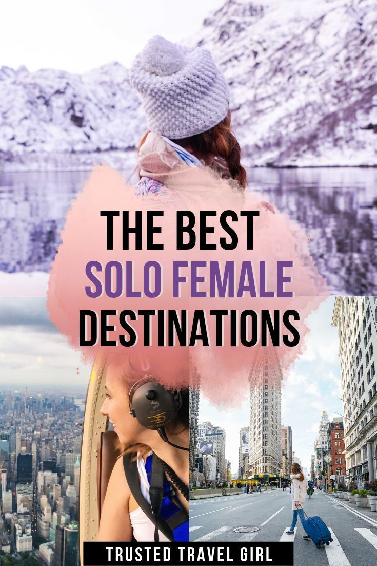 The Best Solo Female Travel Destinations in 2019. My favorite places for women to travel alone. Check out this list of destinations around the world to give you tons of inspiration for your solo travel adventure.