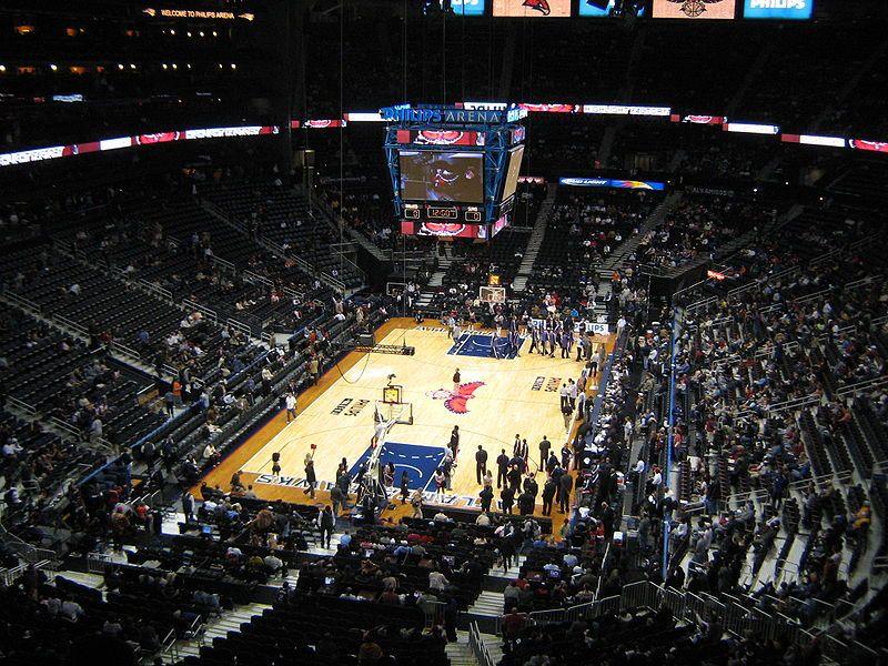 File Philips Arena Basketball Jpg Nba Arenas Philips Arena Arenas