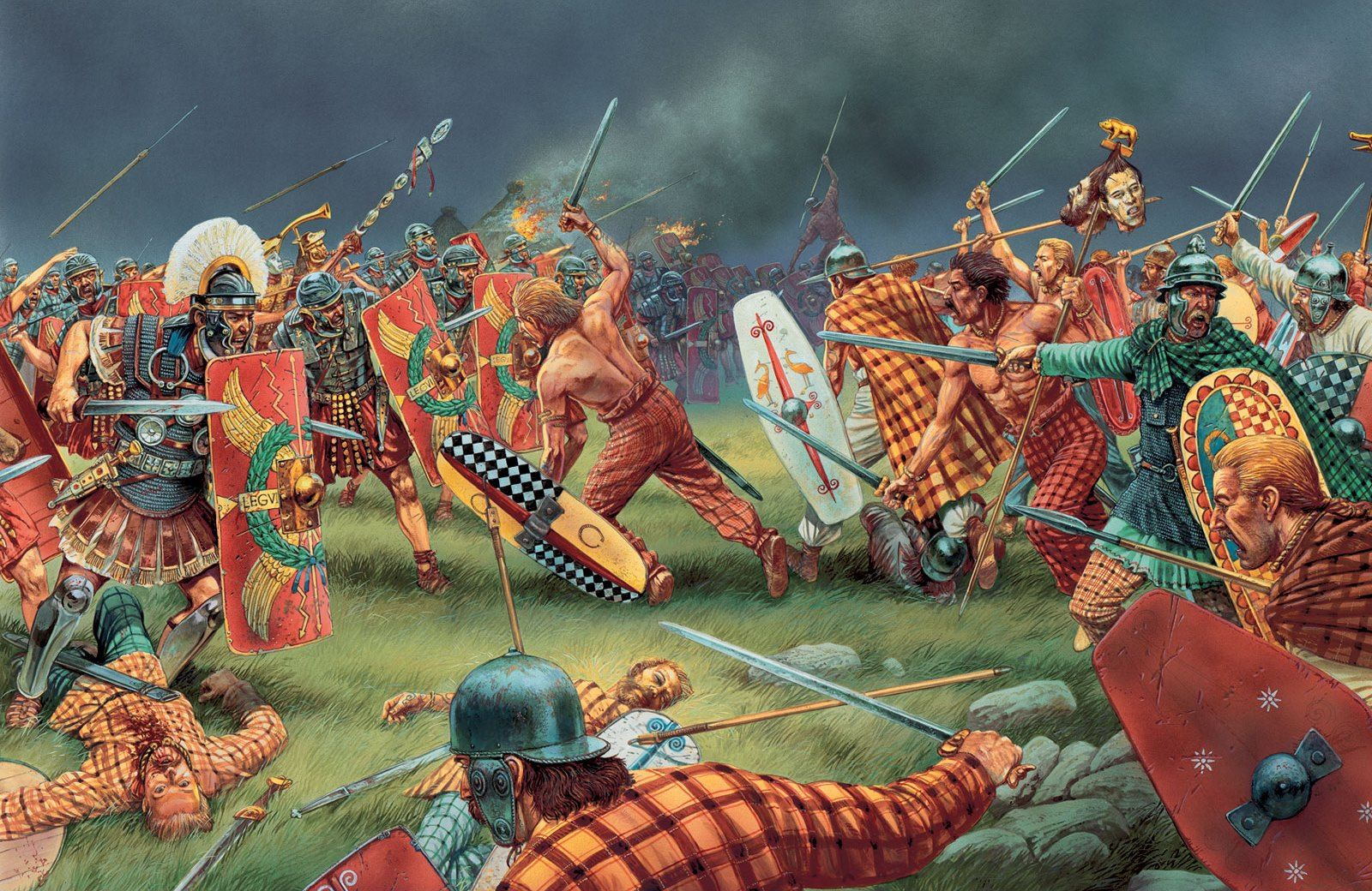 a history of the roman empires battles with gauls The romans met the gauls in pitched battle at the battle of the constitutional history of the roman republic can be the roman republic and the roman empire.