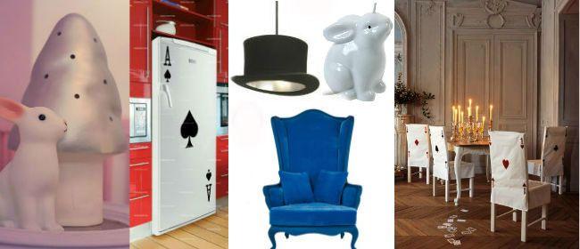 stoelovertrekken kaart alice in wonderland. Black Bedroom Furniture Sets. Home Design Ideas