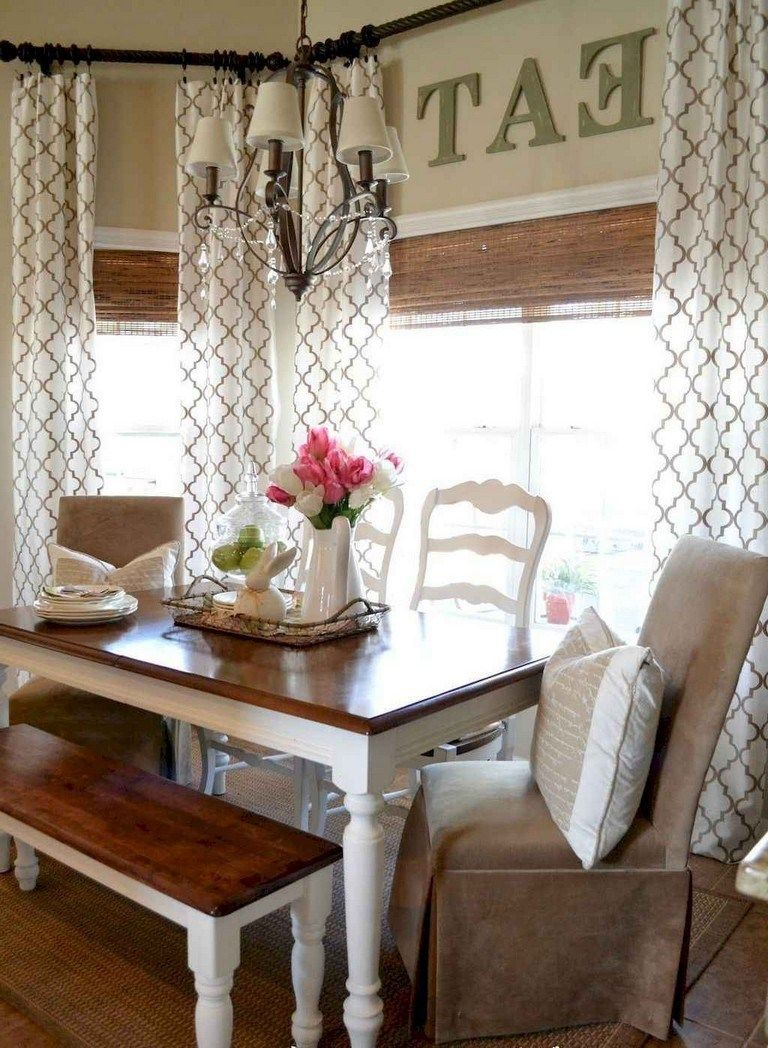 78 lovely farmhouse living room curtains decor ideas farmhousedecor farmhouselivingroom curt on farmhouse kitchen valance ideas id=50892