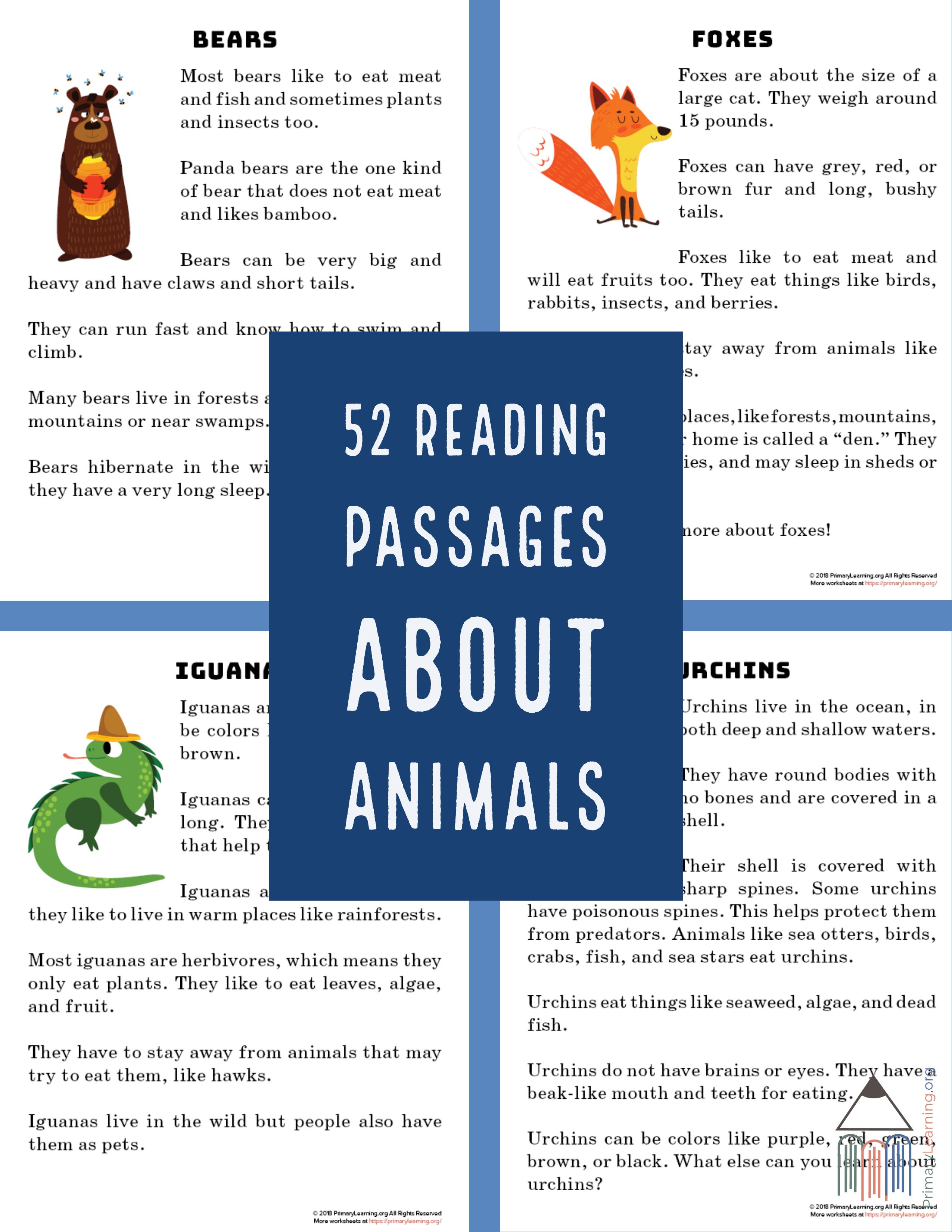 Free Reading Worksheetsin These Non Fiction Reading