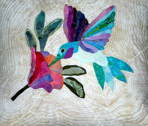 Hummingbird Quilt by Susan Lane. Design from Applique Takes Wing ... : hummingbird quilts - Adamdwight.com