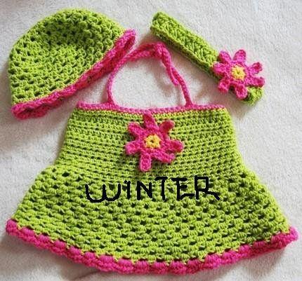 free headband crochet patterns for baby | Online Crochet Patterns ...