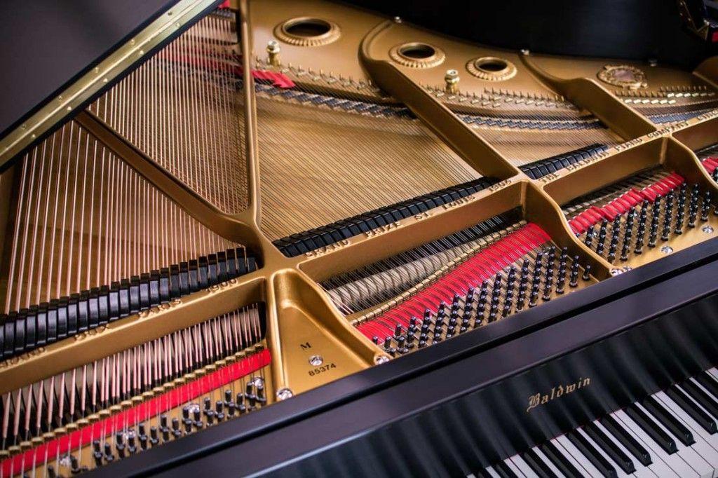 Historic Baldwin Grand Piano Restored for Ruthmere Museum | Piano, Grand  piano, Grands