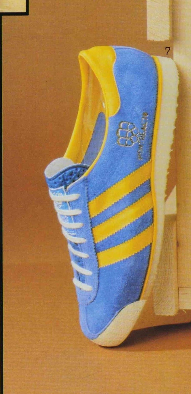 A look at the Montreal  76 Adidas were never shy of tying their products to  sporting events – for the 1976 Olympic Games in Montreal . 7b7620cf6