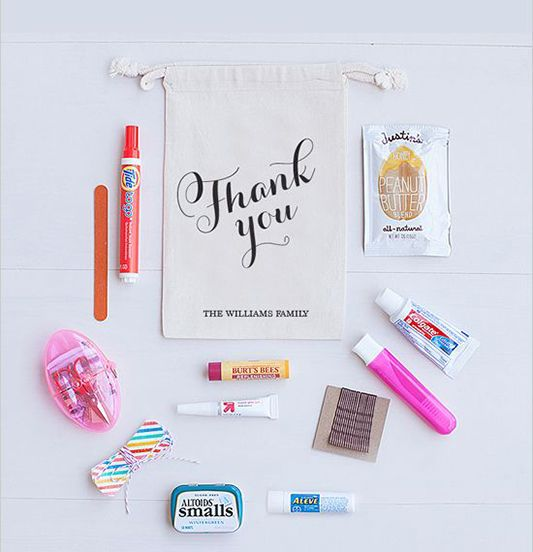 Festival Brides Wedding Guest Hospitality The Welcome Pack