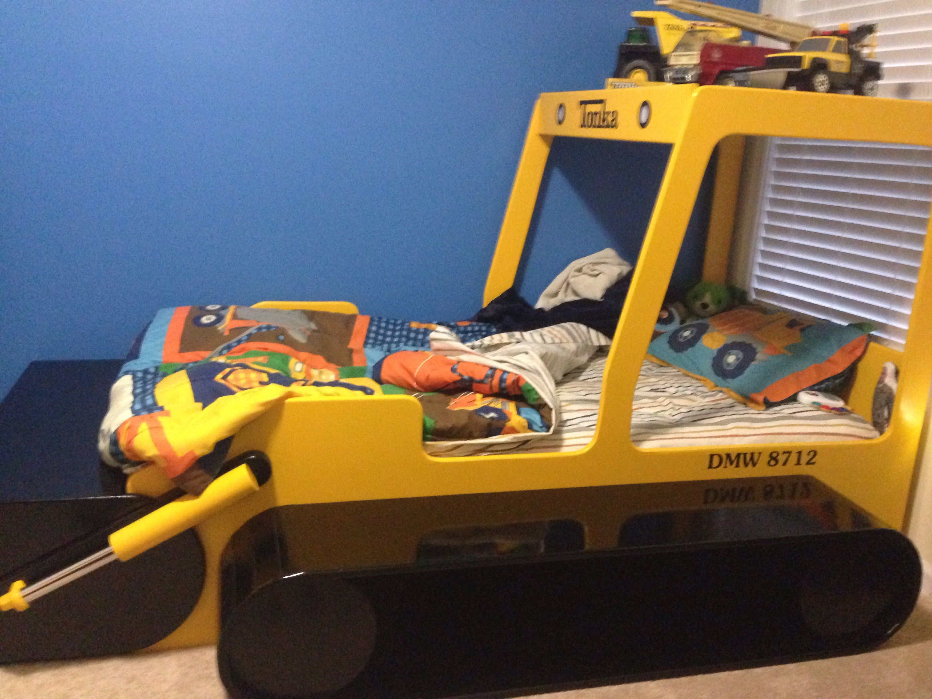 Truck beds for kids - Dylan S Tonka Truck Bed Made With Love By Papa It Looks So Good In