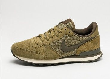 Nike Internationalist Prm chaussures olive, nike air max