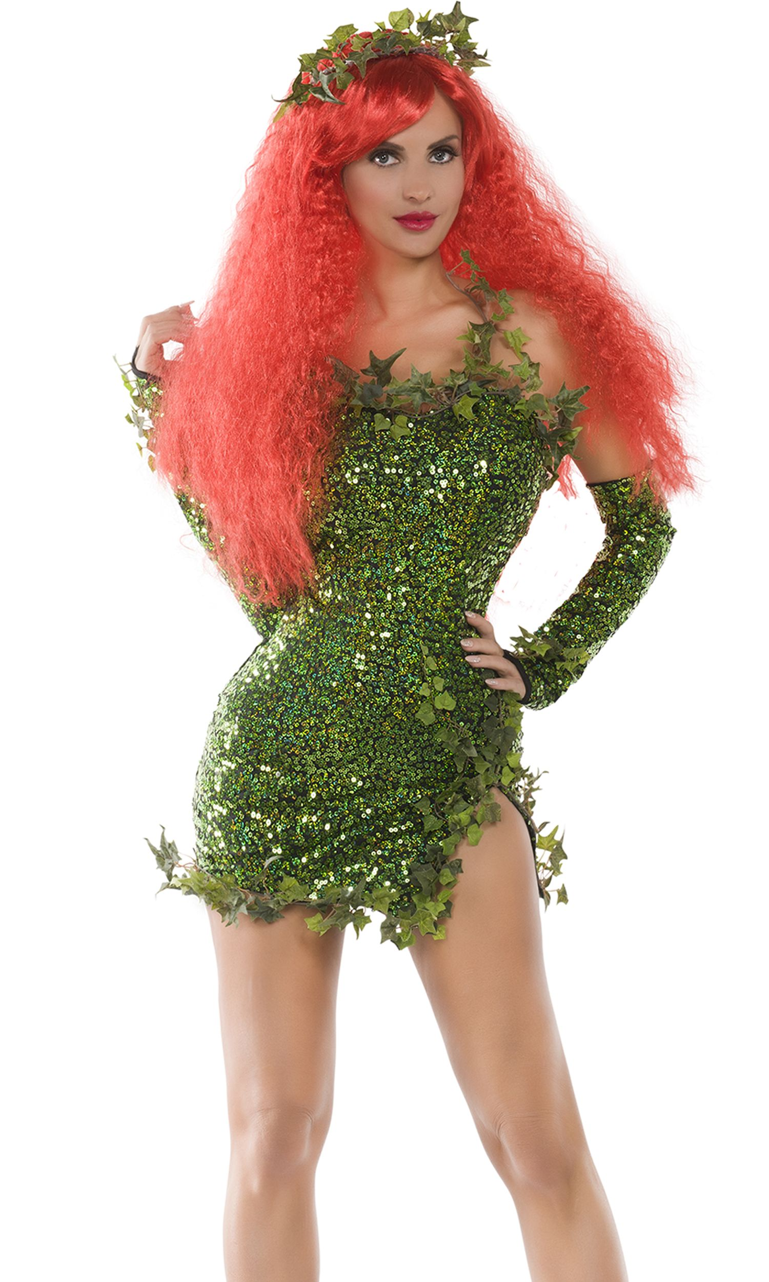 Poisonous Villain Costume Ivy costume, Female villain