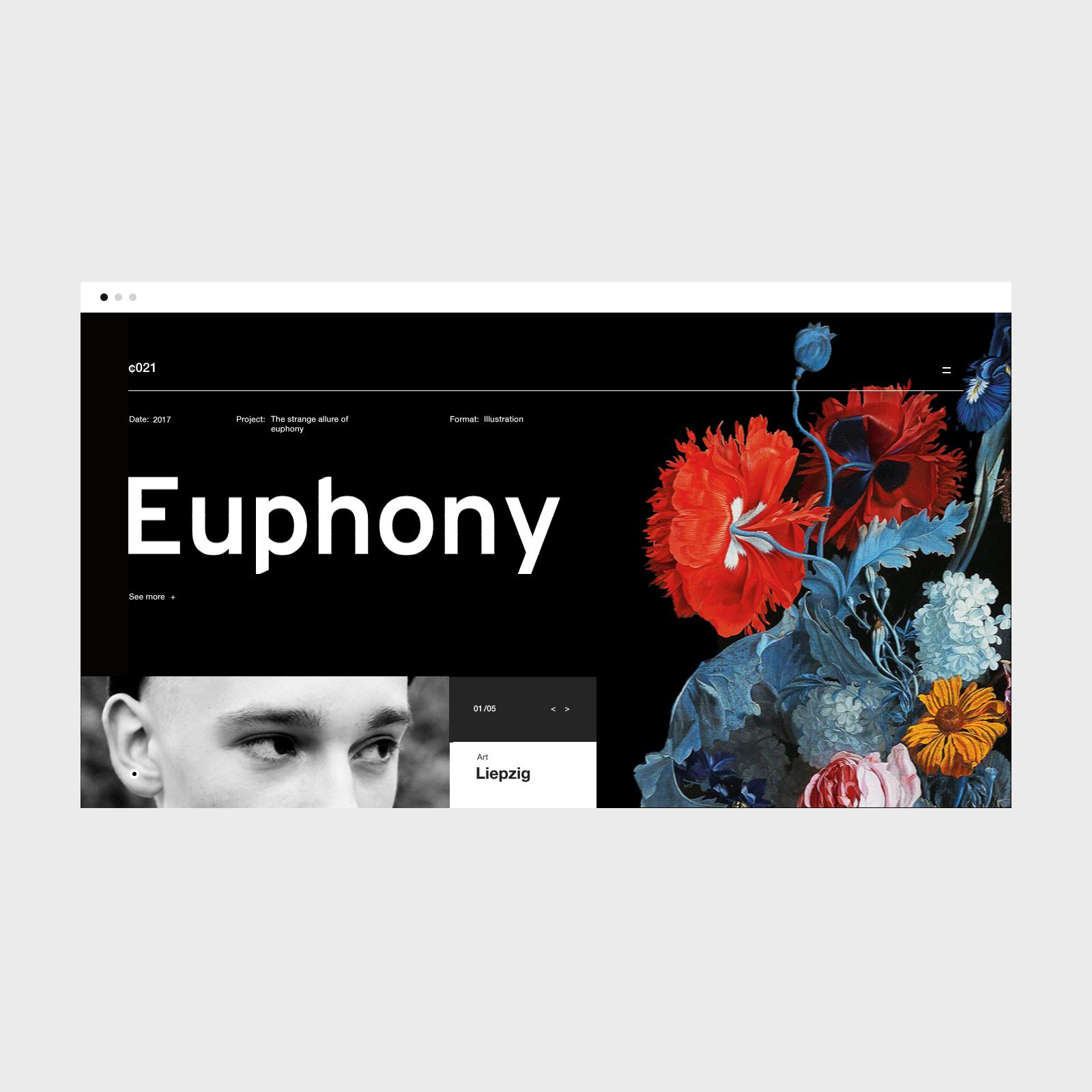 Euphony Modern Web Design Web Design Design Inspiration
