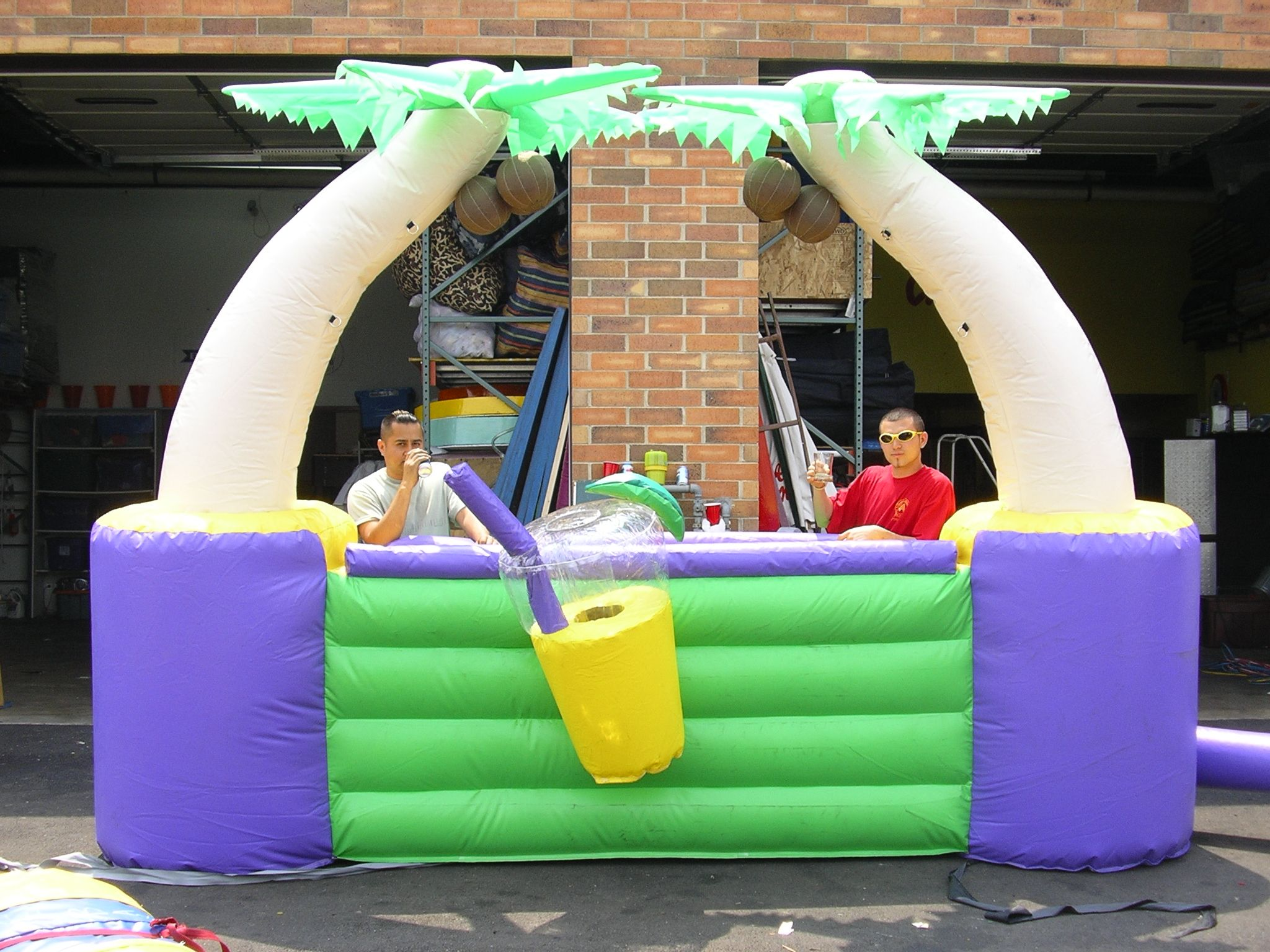 Inflatable bar 2 chicago party rentals event catering