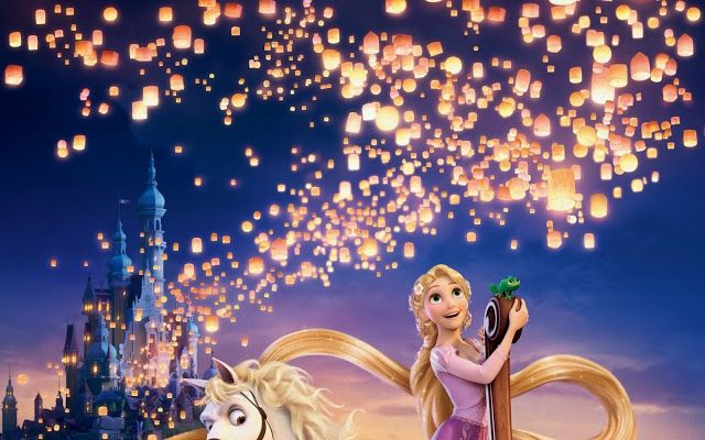 Tangled Rapunzel HD Wallpapers Free Download