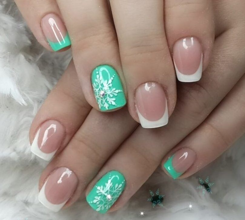 Nail Art #3789 - Best Nail Art Designs Gallery | Snow nails ...