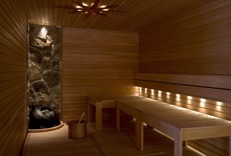 Faretti Bagno ~ Una sauna illuminata con faretti led a incasso faretti led