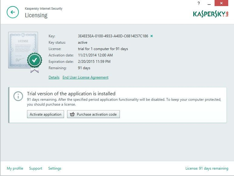 Kaspersky Total Security  Activation Code Plus Crack  Raja
