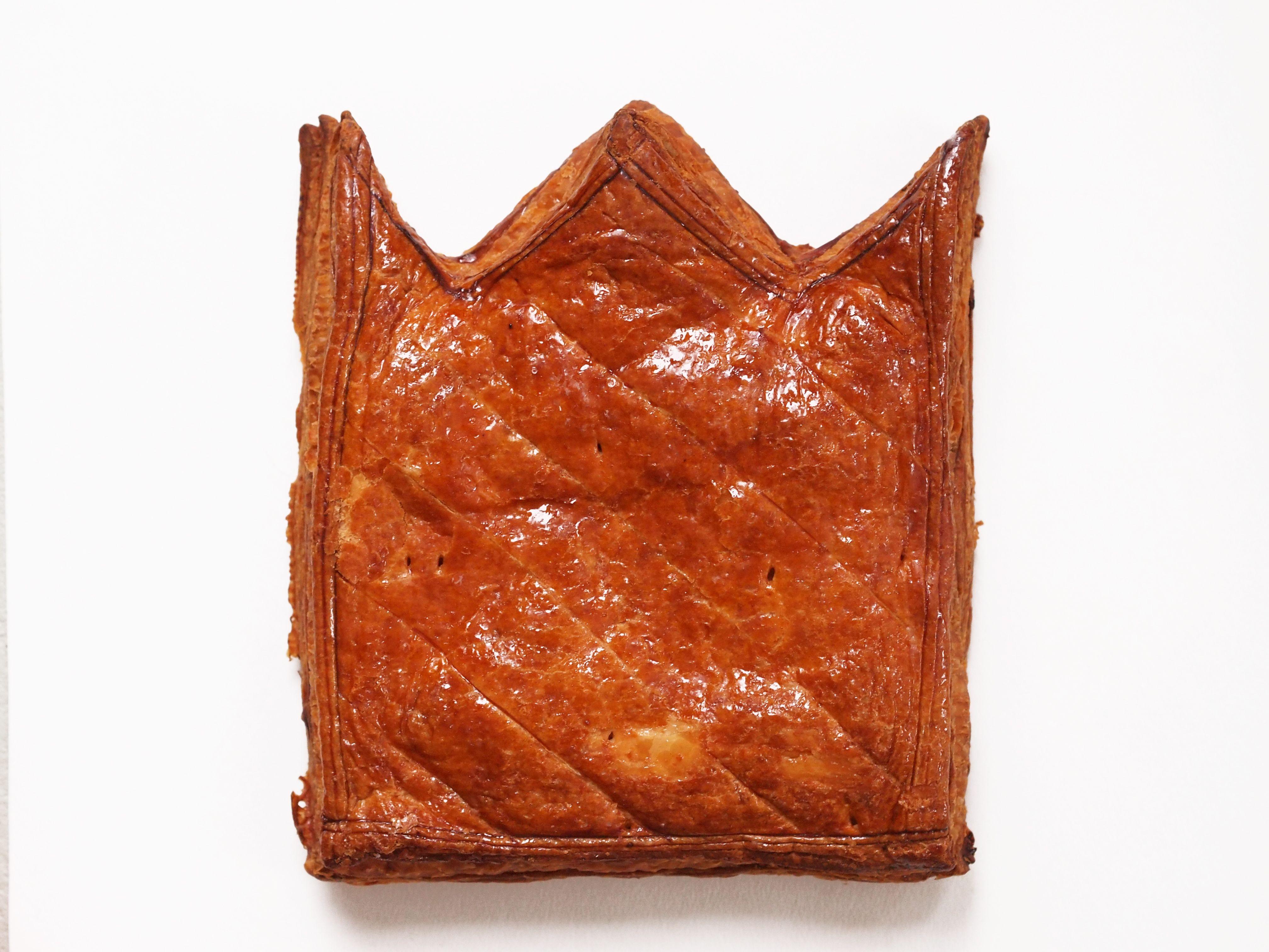 Galette des rois pensée pour une pâtisserie strasbourgeoise