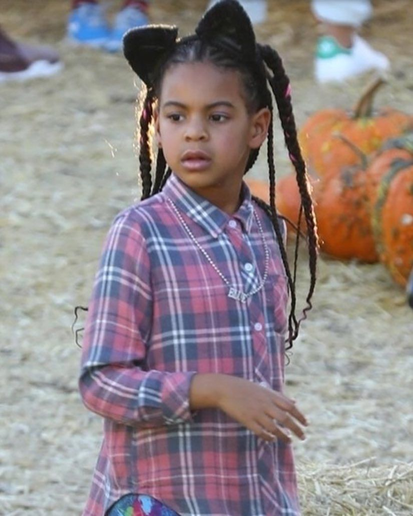 Blue Ivy At A Pumpkin Patch In Culver City California October 19 2018 Blue Ivy Blue Ivy Carter Beyonce Style