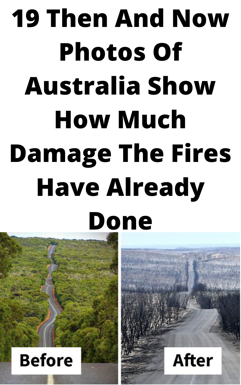 19 Then And Now Photos Of Australia Show How Much Damage