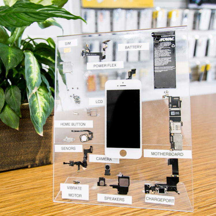 The anatomy of an #iPhone as seen at CPR Cell Phone Repair Click to ...