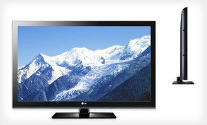 Groupon - $ 449 for an LG 42-Inch Commercial 1080p LCD HD Television ($ 1,243.50 List Price). Free Shipping and Free Returns. in Online Deal. Groupon deal price: $449.0