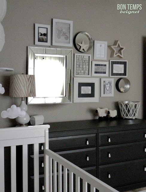 Boy\'s nursery - Perfect Taupe by Behr (paint color). Love this ...