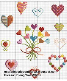 Heart, Coeur, Corazon, Cuore, Coração - LovingCrossStitch - Álbumes web de Picasa