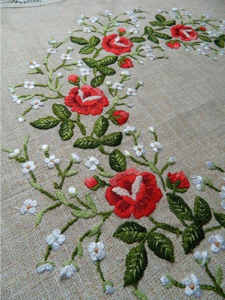Applique designs for tablecloth - Vintage